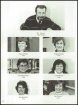 1985 Tolland High School Yearbook Page 94 & 95