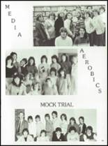 1985 Tolland High School Yearbook Page 98 & 99