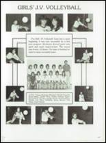 1985 Tolland High School Yearbook Page 116 & 117