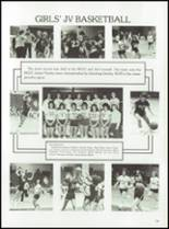 1985 Tolland High School Yearbook Page 122 & 123