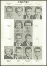 1956 Atlantic High School Yearbook Page 18 & 19