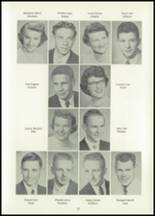 1956 Atlantic High School Yearbook Page 20 & 21