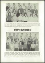 1956 Atlantic High School Yearbook Page 36 & 37