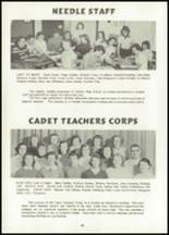 1956 Atlantic High School Yearbook Page 44 & 45