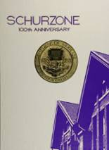 1973 Yearbook Schurz High School