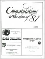 1981 Ketcham High School Yearbook Page 246 & 247