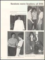 1983 Independence Christian High School Yearbook Page 56 & 57