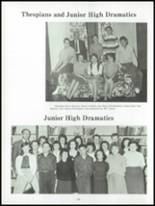 1961 Harry Wood High School Yearbook Page 28 & 29