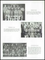 1961 Harry Wood High School Yearbook Page 34 & 35