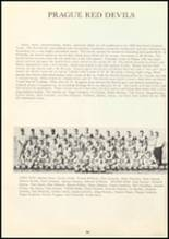 1964 Prague High School Yearbook Page 60 & 61