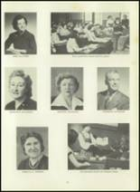 1951 Memorial High School Yearbook Page 16 & 17