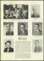 1951 Memorial High School Yearbook Page 18 & 19