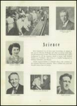 1951 Memorial High School Yearbook Page 20 & 21
