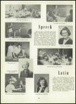 1951 Memorial High School Yearbook Page 26 & 27