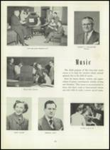 1951 Memorial High School Yearbook Page 28 & 29