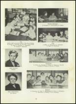 1951 Memorial High School Yearbook Page 98 & 99
