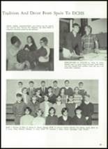 1968 Delphi Community High School Yearbook Page 50 & 51