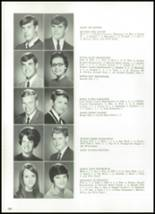 1968 Delphi Community High School Yearbook Page 110 & 111