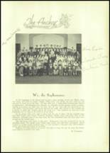 1935 South Kingstown High School Yearbook Page 40 & 41