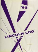 1963 Yearbook Lincoln High School