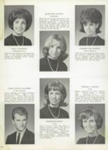 1965 Memorial High School Yearbook Page 108 & 109