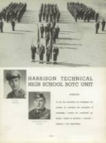 1954 Harrison Technical High School Yearbook Page 186 & 187