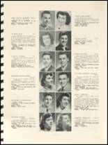 1952 East High School Yearbook Page 20 & 21