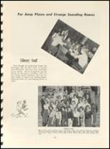 1952 East High School Yearbook Page 50 & 51