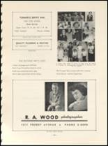 1952 East High School Yearbook Page 106 & 107