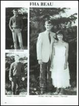 1988 Sharon Mutual High School Yearbook Page 92 & 93