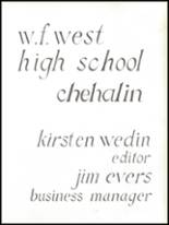 1959 W.F. West High School Yearbook Page 10 & 11