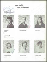 1959 W.F. West High School Yearbook Page 22 & 23