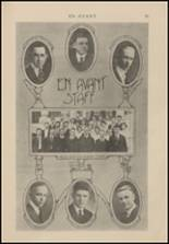 1921 North Central High School Yearbook Page 32 & 33