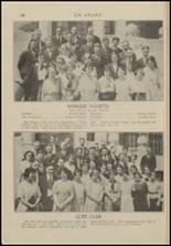 1921 North Central High School Yearbook Page 70 & 71