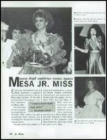 1985 Mesa High School Yearbook Page 32 & 33