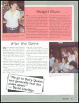 1985 Mesa High School Yearbook Page 40 & 41