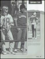 1985 Mesa High School Yearbook Page 72 & 73
