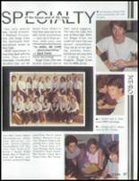 1985 Mesa High School Yearbook Page 108 & 109