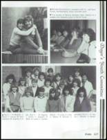 1985 Mesa High School Yearbook Page 128 & 129