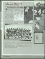 1985 Mesa High School Yearbook Page 148 & 149