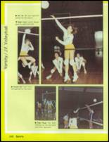 1985 Mesa High School Yearbook Page 154 & 155