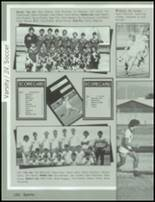 1985 Mesa High School Yearbook Page 166 & 167