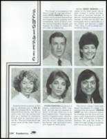 1985 Mesa High School Yearbook Page 206 & 207