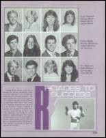 1985 Mesa High School Yearbook Page 250 & 251