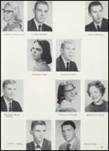 1961 Goshen High School Yearbook Page 36 & 37