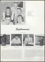 1961 Goshen High School Yearbook Page 60 & 61