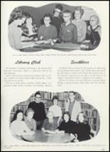 1961 Goshen High School Yearbook Page 106 & 107