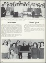 1961 Goshen High School Yearbook Page 108 & 109
