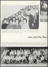 1961 Goshen High School Yearbook Page 110 & 111
