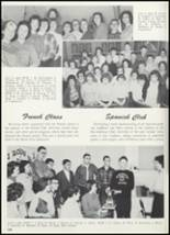 1961 Goshen High School Yearbook Page 112 & 113